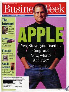 July 31, 2000 | BusinessWeek [US] Yes Steve, you fixed it