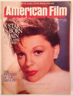 JUDY GARLAND American Film Magazine, July 1983 A Star is Born Memorabilia