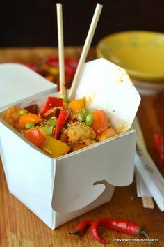 Firecracker Chicken by theviewfromgreatisland #Chicken #Stir_Fry #Healthy