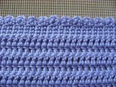 easy crochet border (includes video tutorial)
