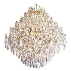 Italian Crystal Chandelier | From a unique collection of antique and modern chandeliers and pendants  at https://www.1stdibs.com/furniture/lighting/chandeliers-pendant-lights/