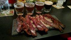 Bacon & Beer Flight @ BarBacon NYC #barbacon