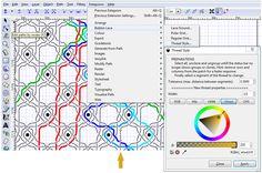 DiBL - InkScape-plugin om draden een kleurtje te geven in gegenereerde werktekeningen
