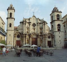 Cuba - got to go into this church, amazing architecture!