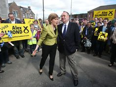 Mark Steel: An SNP takeover? Whatever happened to democracy? Mark Steel, Alex Salmond, Idi Amin, John Major, The Voice, Scotland, Hold On, Shit Happens, Times