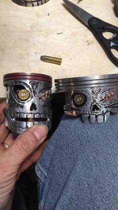 piston skulls