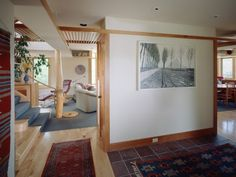 House Plan 454-3 Sarah Susanka - I like this entry