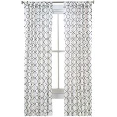 Happy Chic by Jonathan Adler Alexa Faux-Linen Curtain Panel  found at @JCPenney