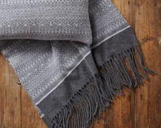 Blanket Fair Isle Knitted Blanket Wrap 100% by SuzieLeeKnitwear