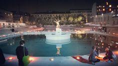 La storica Piscina Caimi di Milano riapre al pubblico con il concerto galleggiante Tranceparenti, una serata sull'acqua tra elettronica e musica classica