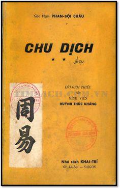 Chu Dịch Quyển 2 (NXB Khai Trí 1969) - Phan Bội Châu, 656 Trang   Sách Việt Nam