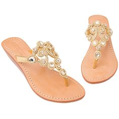 c4af4768b7c626 Copenhagen - Women s Leather Jeweled Sandals - Mystique Sandals Mystique  Sandals