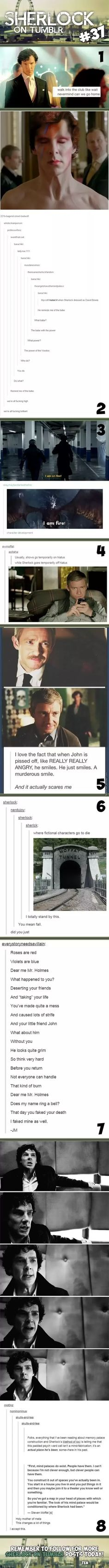 Sherlock On Tumblr #37 #IAmAGeek
