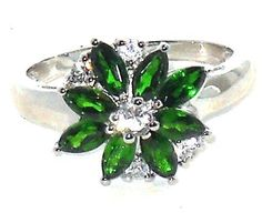 Russian+Chrome+Diopside+2.00+ctw+Ring+size+7++Nickel+Free+Sterling++#diopside+#flower http://stores.ebay.com/JEWELRY-AND-GIFTS-BY-ALICE-AND-ANN