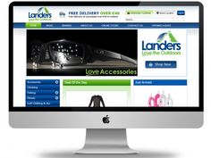 At #Landers Outdoor World, our customers can choose from a wide range of quality specialist clothing and equipment to suit their individual needs… Lander is E-commerce platform in Ireland famous for sports related products. Users can purchase products online with transparency and security in payment aspects. It also includes deal of the day feature. Technologies: - #Joomla 2.5, #Virtuemart, Newsletter, Different Joomla Modules Business Category: #Sports e-commerce