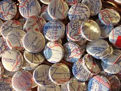 Boston Wedding The Wicked Good Boston Wedding Favors by buttonempire, $95.00