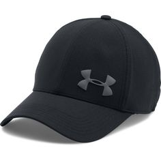 low priced ca614 66e2b NEW WITH TAGS UNDER ARMOUR MEN S UA MESH STRETCH FIT CAP - LG   XL - BLACK  001 190078477610   eBay