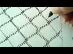 How to draw tanglepattern Chence - YouTube ok mais s'agit pas de trembler !!!! ou d'avoir besoin d'une loupe!!