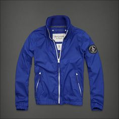Abercrombie & Fitch Mount Marshall Jacket. Blue.