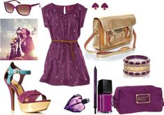 """""""Purple Beauty"""" by shopahaulica on Polyvore"""