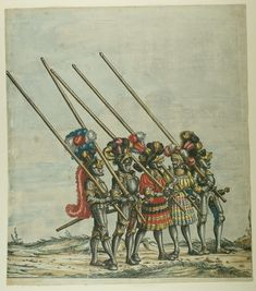 Artist: various, Title: »Triumphzug Kaiser Maximilians« Blatt 29, Date: 1526, Note: colouring done in 1765 by Josef Hoeger