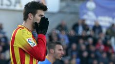 Getafe vrs. FC Barcelona | FOTO: MIGUEL RUIZ - FCB Fc Barcelona, Football Is Life, Club, Photo Galleries, Faces, Pique