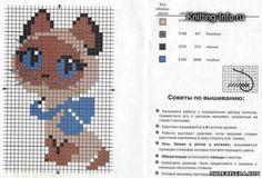 Схемы вышивки животных - Животные - Схемы плетения бисером -