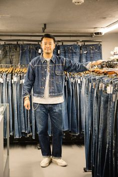 Raw Denim, Jean Shirts, Vintage Denim, Denim Fashion, Simple Style, Jeans, Menswear, Style Inspiration, Denim Shirt Men