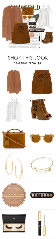 """""""Untitled #196"""" by edelintess on Polyvore featuring Vince, Faith Connexion, Chicwish, Mark Cross, Draper James, Lana, Rimmel, Marc Jacobs, Lash Star Beauty and Yves Saint Laurent"""
