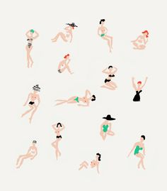 Ladies At The Beach | Danielle Kroll