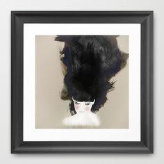 Wind-Kissed Bride Art Print