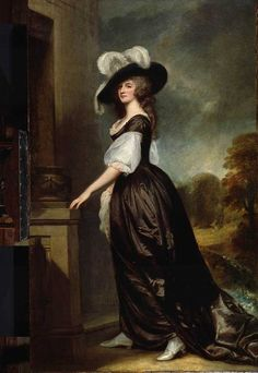 Charlotte, Lady Milnes, 1788-1792.   From The Frick Collection, accession number 1911.1.106.