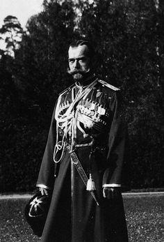 Tsar Nicholas II of Russia/ Zar Nicolás II de Rusia.