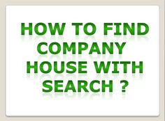 Finding a house for office is difficult and not a quick process. Read to find out how to land up to your company house with a search. Companies House, Finding A House, How To Find Out, Search, Reading, Searching, Reading Books