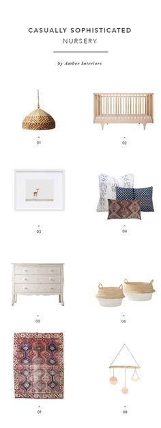 Designer's Take on The Nursery: {Amber Interiors} - Apartment34