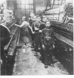 Kinderarbeid  http://maaikezijm.com/2014/02/22/industriele-revolutie-kinderarbeid/