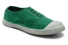 Bensimon tennis lacets vert