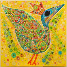 Take one look at the vivid, intricate and colorful work of artist Suzanne Furlong Kiggins and you'll be transported off through the skies. This collection of original prints feature bold birds, cars and spaceships that are sure to send your child's imagination soaring high.