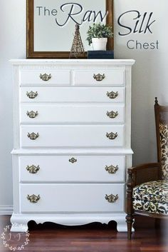 This Chest of Drawers Makeover by Melanie Alexander of Lost