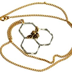 Fab.com | Mini Honeycomb Necklace. MUST HAVE.