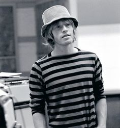 Brian Jones looking absolutely gorgeous, in RCA Studios, Hollywood, Los Angeles, March 1966 ©