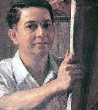 Fernando Philippine's First National Artist Painting Fernando Amorsolo was born May in the Paco district of Manila. At 13 he was apprenticed to the noted Philippine artist Fabian de la Rosa, his mother's first cousin. Filipino Art, Filipino Culture, Picture Borders, Philippine Art, Most Popular Image, Philippines Culture, San Fernando, Book And Magazine, Artists Like