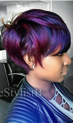 This is freaking beautiful 😱 > Hair Style Models Short Hair Cuts, Short Hair Styles, Natural Hair Styles, My Hairstyle, Girl Hairstyles, Blonde Bob Wig, Beautiful Hair Color, Beautiful Beautiful, Sassy Hair