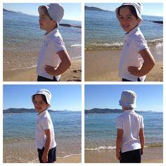 A la plage 💦🐟☀️ Pics on the beach 💙 INTEMPOREL ♡ Polo blanc manches courtes en piqué 100% coton ♡ . . #GolfeStTropez #plage #picoftheday #instapic #instakids #ete #love #polos #coton #blanc #cotton #sea #photooftheday #summervibes #kids #kidswear #kidsstyle #kidsfashion #happy #children #style #kid #mode #chic #enfant #modeenfants #photodujour #bellejournee #eshop #polofield_official