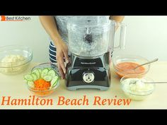 Hamilton Beach 8-Cup Food Processor Review - 70740 - YouTube