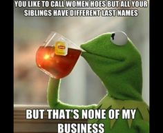 But that's none of my business . ☕️