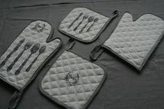 łapki i rękawice kuchenne