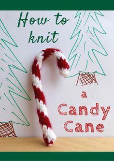 Knitting Patterns Galore - Candy Cane