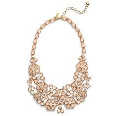 Ted Baker London Cluster Necklace 165 liked on Polyvore
