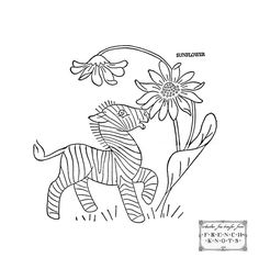 Hand Embroidery Patterns Free Printables | These are originally designed for a baby quilt but would also look ...